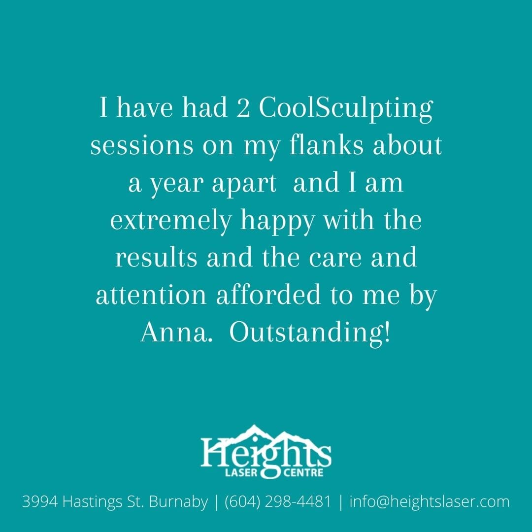 Vancouver coolsculpting review